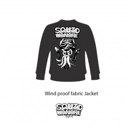 Squid Wanabe SQW LOGO Wind JACKET*XL