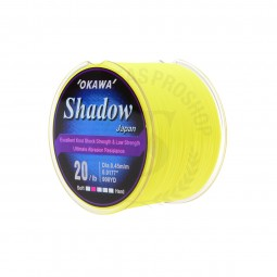 Okawa Shadow 1/4 #20lb 900yd *Yellow