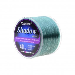 Okawa Shadow 1/4 #40lb 600yd *Clear Green
