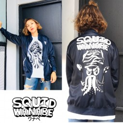 Squid Wanabe SQW LOGO WARM JACKET*XL