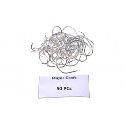 Major Craft ZOC Hook 50pcs #1/0*Jig Hook Stainless