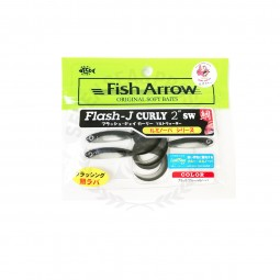 "Fish Arrow Flash-J Curly 2"" SW #L152"