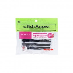 "Fish Arrow Flash-J Squid SW 3.5"" #Black"