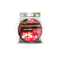 Lure Factory FLUOROCARBON Leader 25lb-50m*Clear