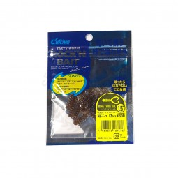 "Owner Tasty Worm Rock'N Bait Ring Twin Tail 1.5"" #RB-1-17"