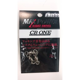 CB ONE MAX Power Assist SWIVEL Size 3 #100lb