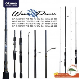 Okuma Wave Power #WP-C-662H (Baitcasting)