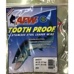 AFW Tooth Proof Stainless S04T-0 #04*สีเงิน