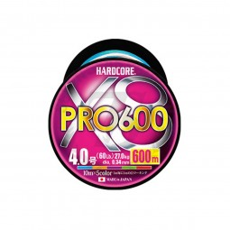 Duel Hardcore® X8 PRO 600m H3955 #PE-1.5 (Multi Color)