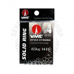 VMC Solid Ring 3562 #4-20pcs