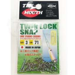 Ten Mouth Twin Lock Snap #3*7097