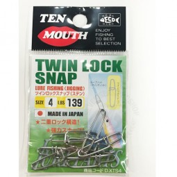 Ten Mouth Twin Lock Snap #4*7103