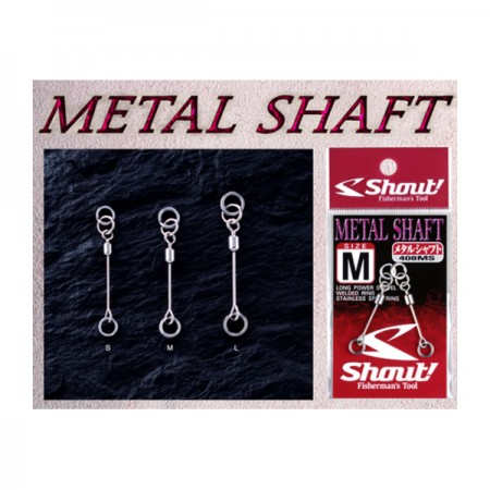 Shout Metal Shaft #Size S