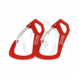 Rapala RCD Carabiner 2 Pack #Red