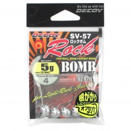 Decoy Rock Bomb Jig Head SV-57 #4 (5g)