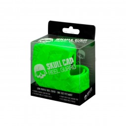 13 Fishing Skull Cap Low-Profile Casting Reel Cover #Lime